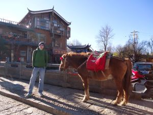 Jonny Blair of Dont Stop Living in Shuhe Old Town China a lifestyle of travel