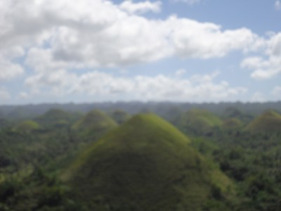 Backpacking in the Philippines: Touring Chocolate Hills, Bohol Island