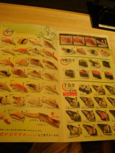 Friday's Featured Food - Japanese Sushi in Tokyo - a lifestyle of travel