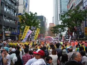 festival time with dont stop living in Shibuya Tokyo Japan