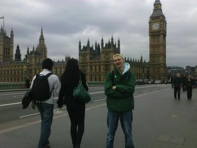 Jonny Blair in London England