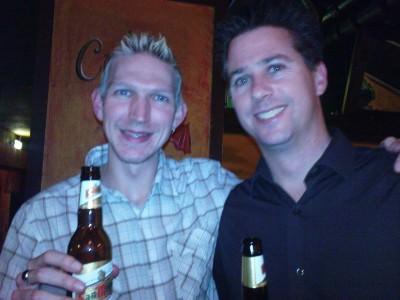 Jonny Blair in London in a secret bar