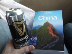 travel guide books for China with a Guinness