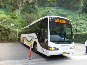 Katoomba to Jenolan Caves by bus