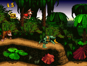 Backpacking through the sights of Donkey Kong Country