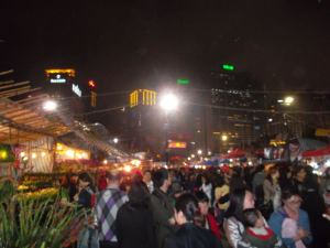 Jonny Blair reports on Dont Stop Living on the night market for the Chinese New Year Fair in Hong Kong