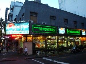 Get Mate Tea in Montevideo in the Manchester Bar on Avenida 18 de Julio
