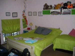 Jonny Blair's bedroom in Montevideo Uruguay
