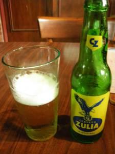 Zulia Beer in Altamira Caracas Venezuela