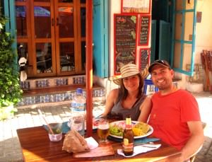 Andrea and John of Inspiring Travellers in Cartagena Colombia on Don't Stop Living