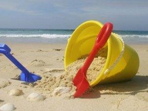 Sandcastle bucket lists