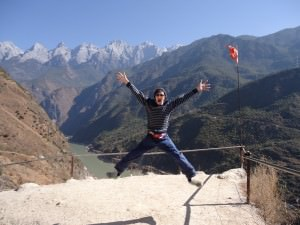 mountains of Yunnan tiger leaping gorge