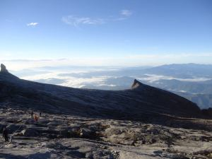 View from the top of Mount Kinabalu