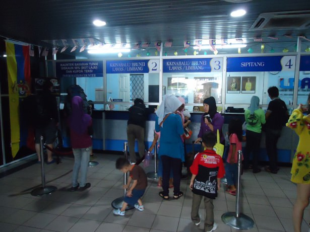 Labuan ferry terminal ticket office Malaysia