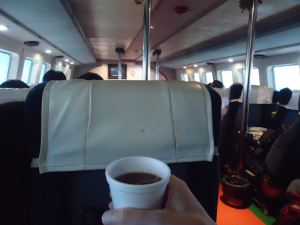 Free tea and hot water a lifestyle of travel Jonny Blair