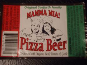 Pizza beer at Beertopia Hong Kong Mamma Mia