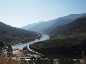 Amazing view of the river in Yunnan China