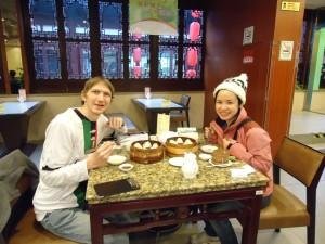 shanghai dumplings panny yu and jonny blair