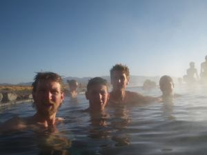 swimming in bolivia salar de uyuni tour
