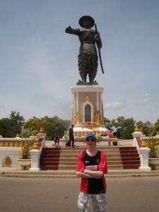 harbourfront in vientiane laos
