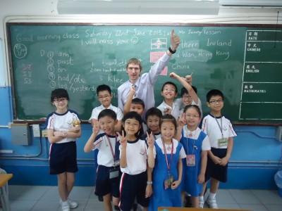 jonny blair teaching english in hong kong