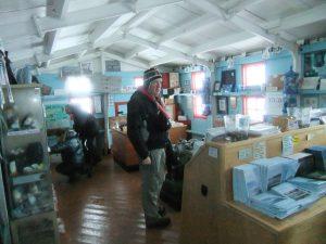 passport stamped in antarctica