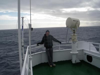 sailing to Antarctica in 2010