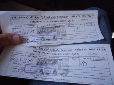 azerbaijan bus tickets