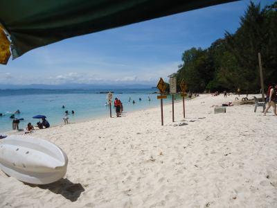 sapi beach borneo