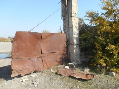 The ruins of Agdam, Nagorno Karabakh