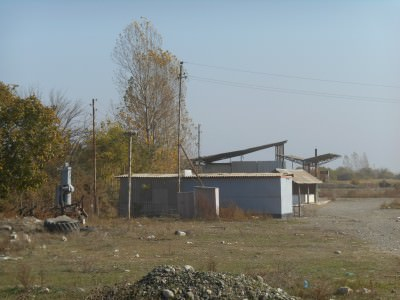 A military base in Agdam