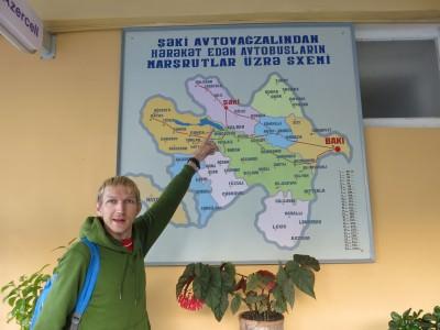 world borders leaving azerbaijan for georgia