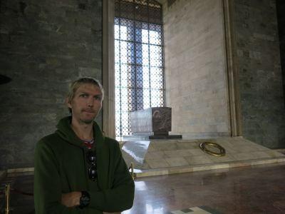 ataturk mausoleum backpacking northern irishman