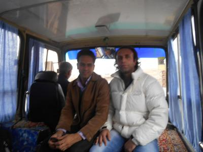 bazargan minibus border