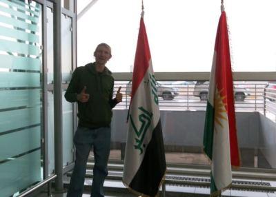 jonny blair backpacking in iraq