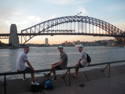 backpacking in sydney