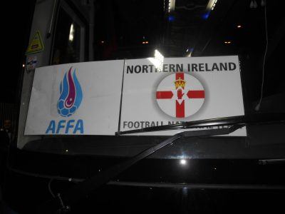 After the 2-0 defeat we headed to the team bus to meet the players.