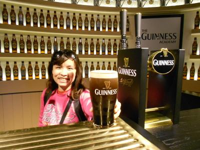 Panny delivers the perfect Guinness in Dublin!