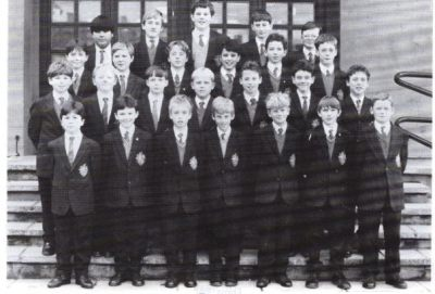 Form 1Y was now form 4Y but things were never the same - incidentally Paddy isn't in this photo, he joined in 2Y.