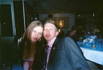Partying with Lauren in 2005