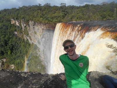backpacking guyana tours