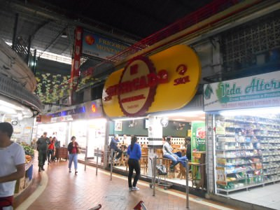 One of the bars in Mercado Central, Belo Horizonte.