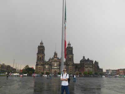 Backpacking in Mexico City - Zocalo!