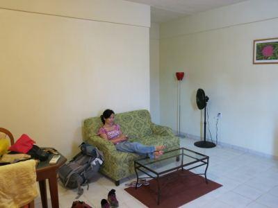 Relaxing in Fajalobi.