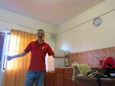 Enjoying Fajalobi apartment in Paramaribo.