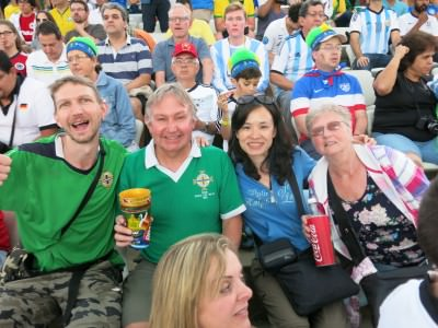 A childhood dream lived - attending the 2014 World Cup Final in the Estadio Maracana in Rio de Janeiro, Brazil!!