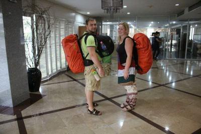 World Travellers: Karolina and Patryk.