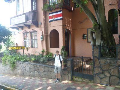 One night of pure inspiration - my stay in the Hemingway Inn, San Jose, Costa Rica.