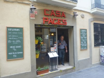 Spots to Visit in Barcelona, Spain: farmers house casa pages barcelona