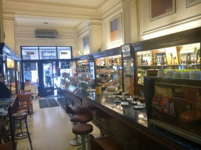 Pastisseria Ideal - the last stop on the tour.